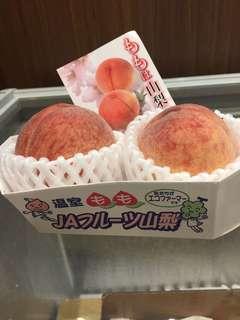 山梨縣溫室水蜜桃