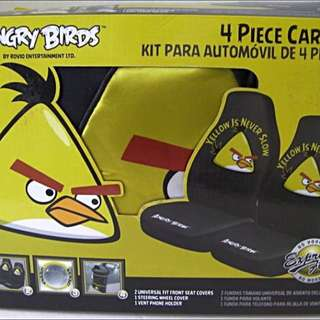 Angry Birds Car Seat Set In A Box