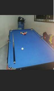 Foldable pool table for sale!!