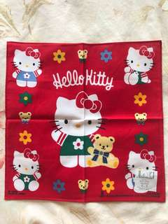 Hello Kitty Handkerchief 手帕