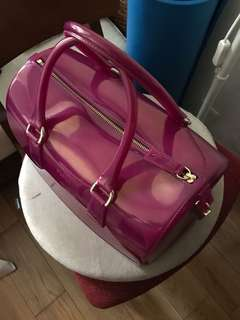 Furla candy bag purple color