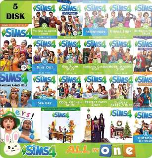 Sims 4 Expansion pack + 1 FREE Stuff pack