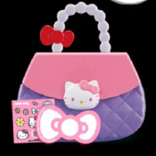 McDonald's Toy Collections - Hello Kitty Purse With Memo Pad & Sticker