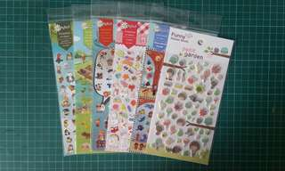 50% OFF Clearance Sale! Assorted Korea Sticker Sheet!