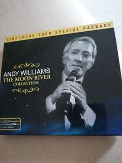 Andy Williams gold disc 2CDs set Limited edition
