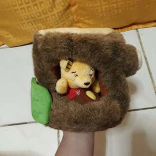 Winnie the Pooh in a trunk Stuffed Toy