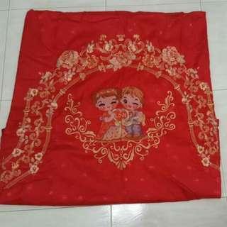 Preloved Wedding Bedsheet