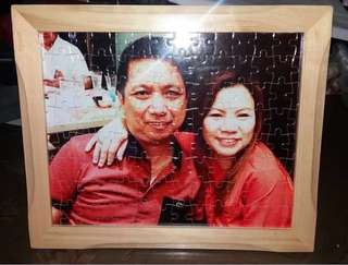 Puzzle pad / Photo paper with frame