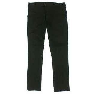 Uniqlo Slim Black Straight Pants
