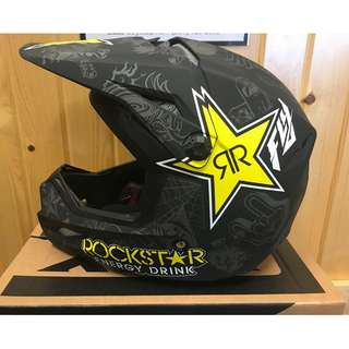 Helmet Fly Racing Kinetic Elite Rockstar Offroad MX Dirt Bike ATV Snowmobile