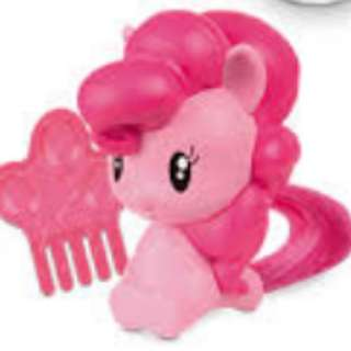 McDonald's Toy Collections - My Little Pony Series (Pinkie Pie)