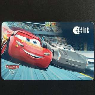 [Not Available ] Ezlink Card - Cars, Disney & PIXAR