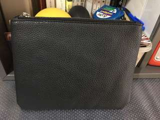 Brand new PU cosmetic bag with zipper