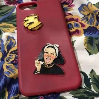 Red 7plus iphone Case
