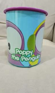 Poppy canister Tupperware