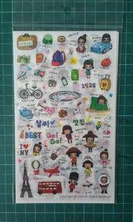 Clearance Sale Korea Sticker sheets Set!