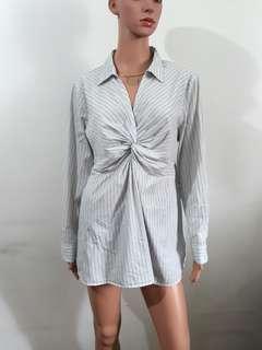 (L) Motherhood Maternity/Nursing blouse