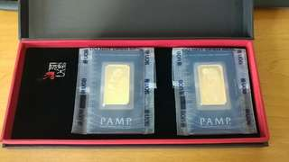 Pamp 1oz gold bar bought from UOB