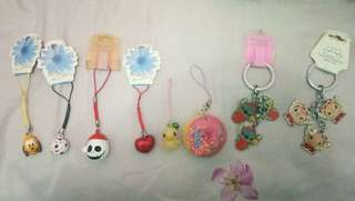 Key rings gantungan kunci phone accessories