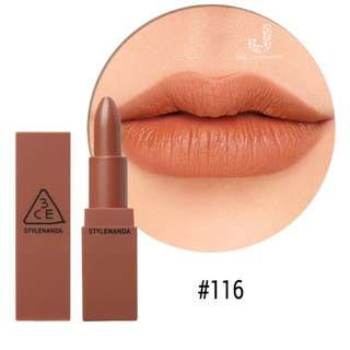 3CE MOOD RECIPE Matte Lipstick #116 Inked Heart