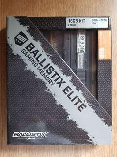 Ballistix Elite Gaming Memory DDR4 16GB 3200