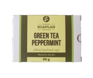 Cold Processed Soap Bar - Green Tea Peppermint