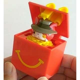 McDonald's Toy Collections - YOKAI Watch Series (JIBANYAN in Happy Meal Box)