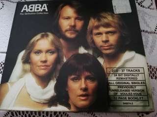 ABBA -The definite collection 2CDs