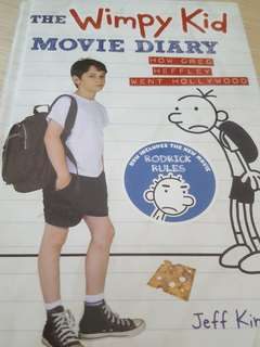 Hardcover - The Wimpy Kid Movie Diary