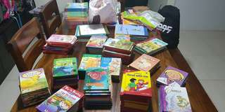 Clearing children books