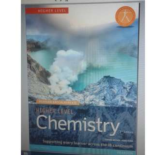 Chemistry HL - Catrin Brown and Mike Ford - Second Edition - Pearson 2014