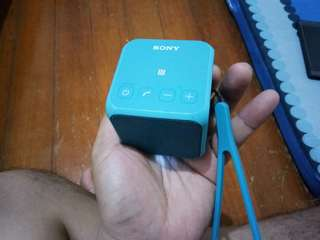Sony SRS X11 Blue Cube Speaker Original