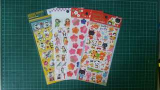 50% OFF Clearance Sale for Japan Sticker Sheet!