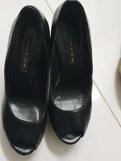 Charles & Keith Peep Toe Sandals