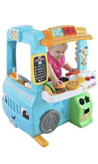 Fisher-Price Laugh & Learn Servin' Up Fun Food Truck/ kitchen playset