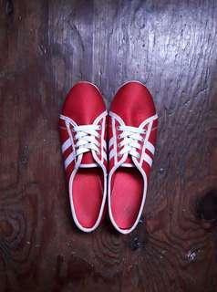 Kicks Red Shoes