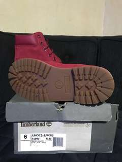 TIMBERLAND WP Boot Red