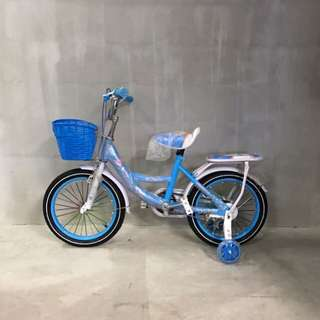 Baby blue kids bicycle - 16 inch