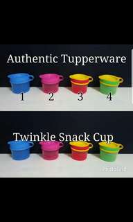 Authentic Tupperware  Twinkle Snack Cup  《Retail Price S$5.90/Each》