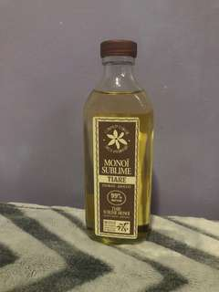 Monoï Oil from Tahiti (Scented Tiaré oil)