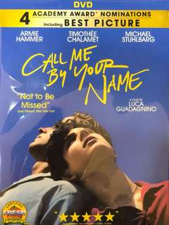 Call me by Your Name: DVD