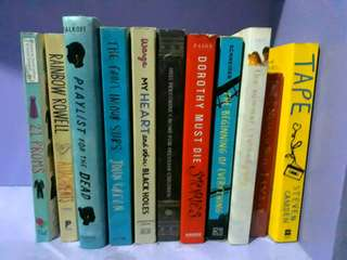 Random Books/Novels @ 150 each