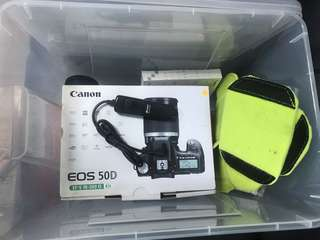 Canon 50D +腳架(含鏡頭)