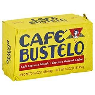 Cafe Bustelo Espresso Ground Coffee, 16 oz Brick 454g
