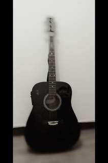 rj acoustic guitar with pickup