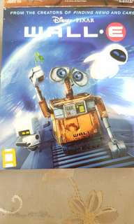 Wall E.  2 Vcds in 1 pack