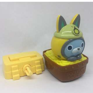 McDonald's Toy Collections - Yokai Watch Series (USAPYON Treasure Trolley)