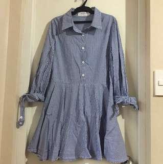 Striped dress small to medium
