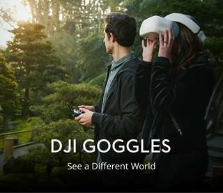 DJI VR Goggles - Ultra-high Quality Screens, Head Tracking, Panorama Viewing, 6 Hours Working Time (CVAJN-F038)