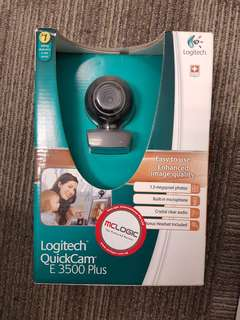Logitech quick cam E3500 plus 1.3